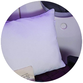 Air New Zealand introduced a new pillow