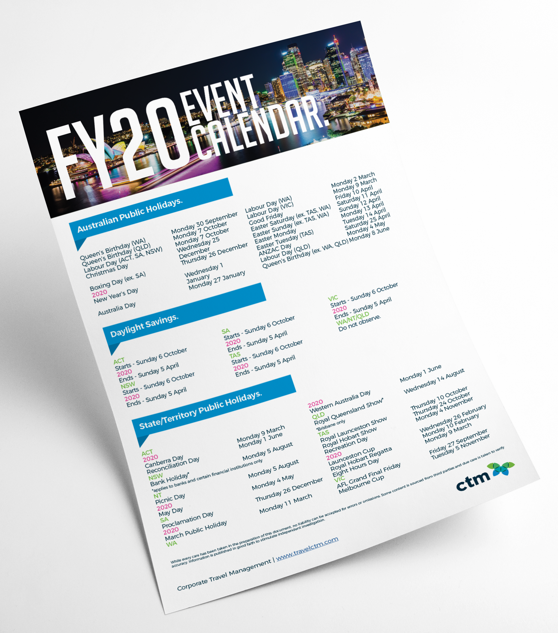 AU FY19 Event Guide